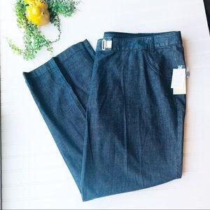 MICHAEL Michael Kors NEW wide leg plus jeans